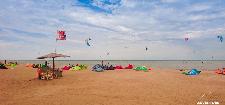 Kitesurfen in Ägypten